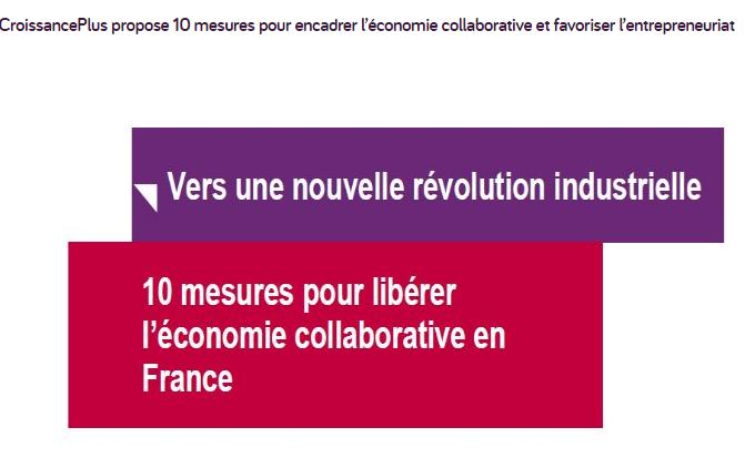 Plus d'ambition pour l'économie collaborative