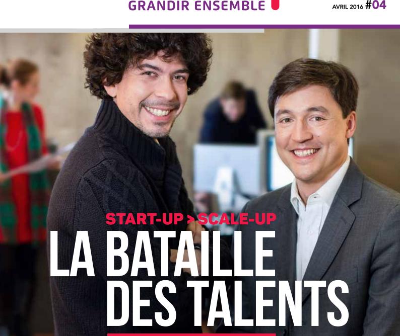 4ème Magazine de CroissancePlus : Passer de la Start-up à la Scale-up