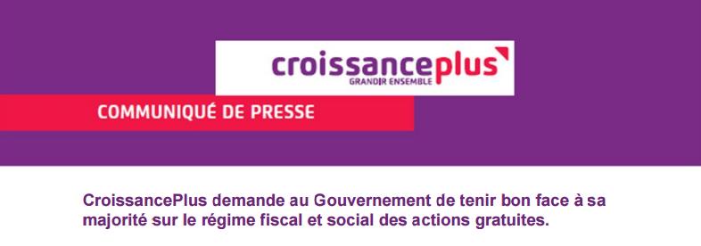Régime fiscal et social des actions gratuites