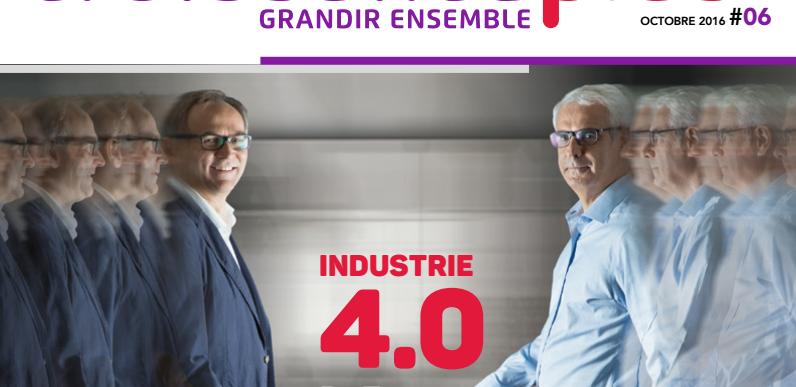 6ème Magazine de CroissancePlus : l'industrie 4.0