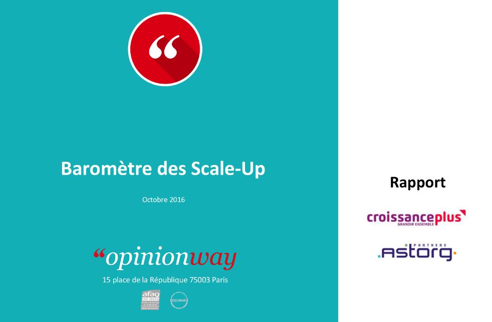 Baromètre CroissancePlus / Astorg Partners : résultats de cette 16ème édition