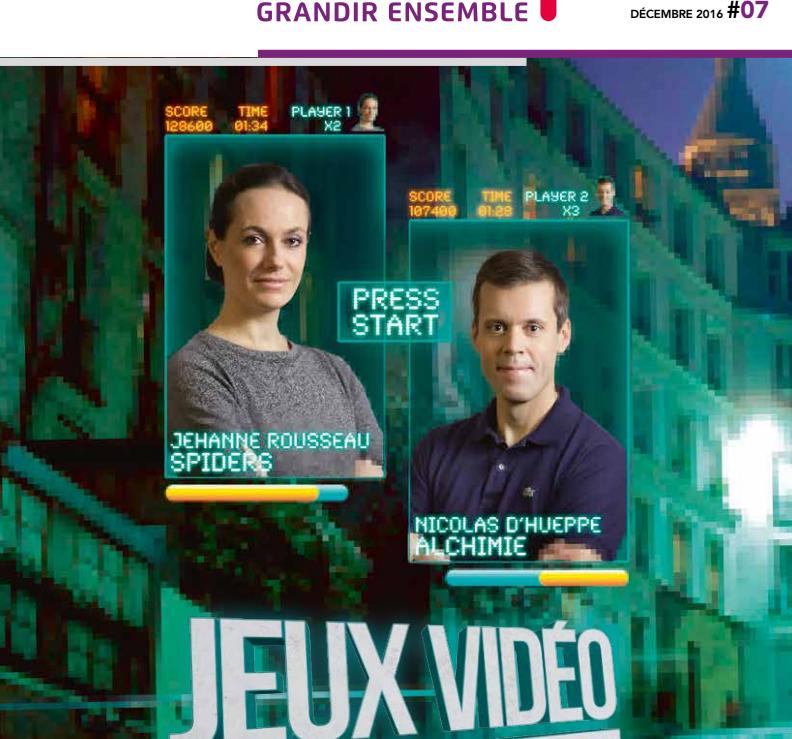 7ème Magazine de CroissancePlus : Jeux vidéos, level up pour la France