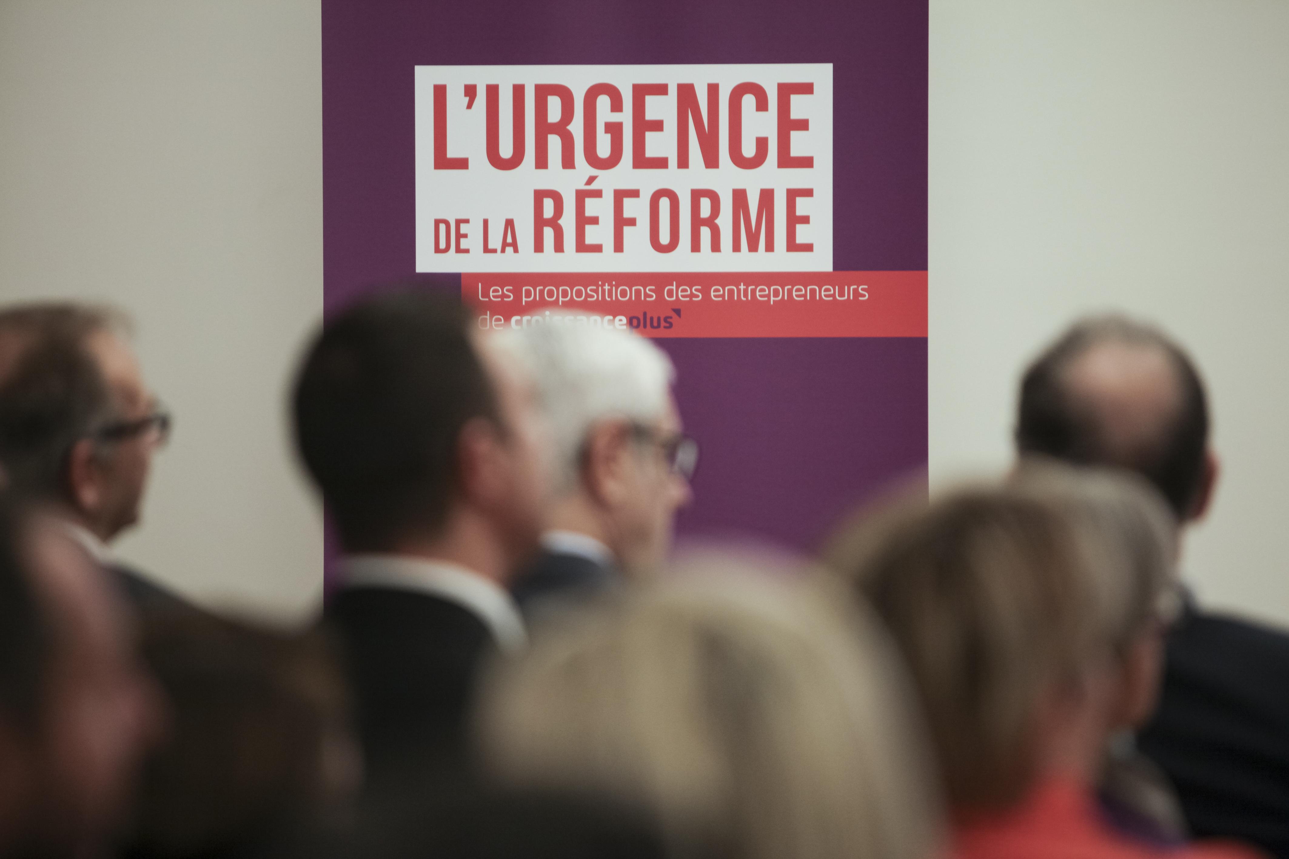 #UrgenceReforme: les propositions de CroissancePlus