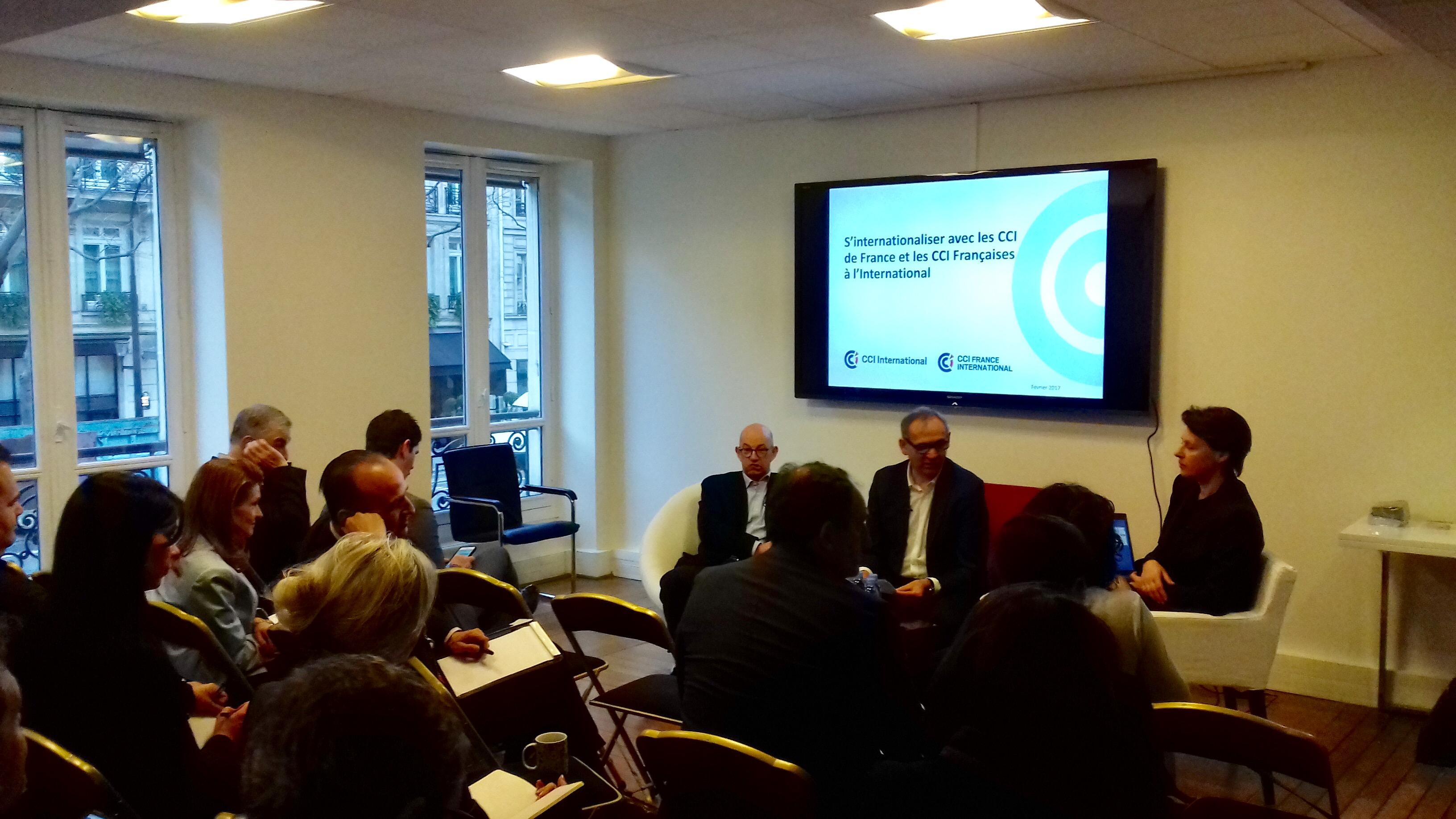 Lancement partenariat CroissancePlus – CCI France International et CCI International
