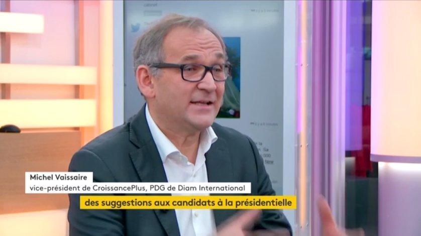 Michel Vaissaire invité chez FranceInfo dans : «L'Eco»