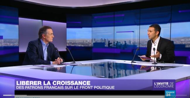 Jean-Baptiste Danet, invité économique de France24