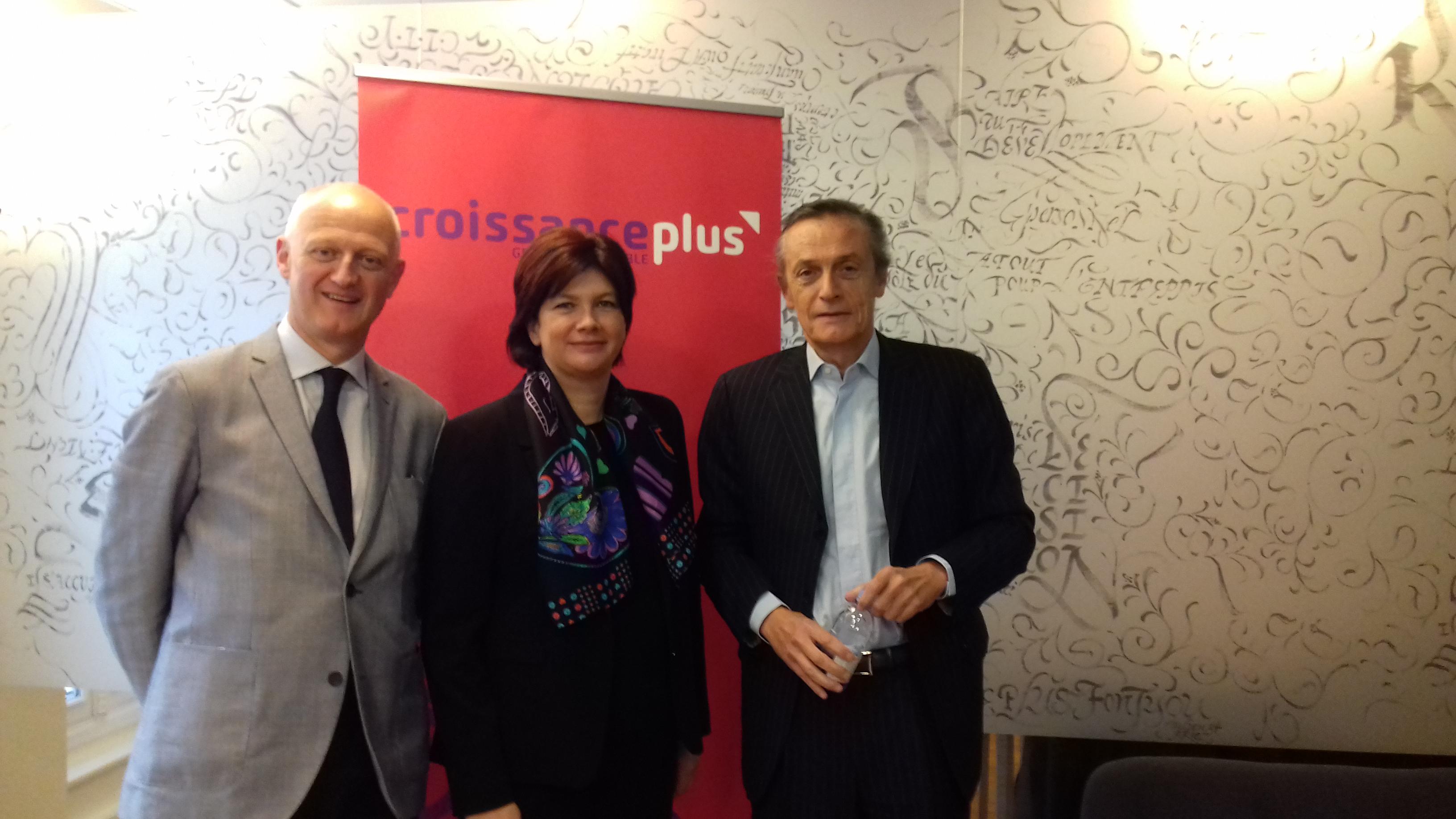 Matinale Politique avec Christophe Caresche et Bernadette Laclais