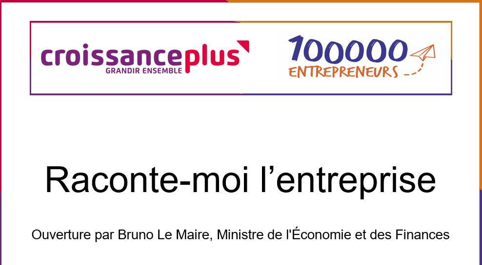 Matinée «Raconte-moi l'entreprise» le 23 novembre à Bercy