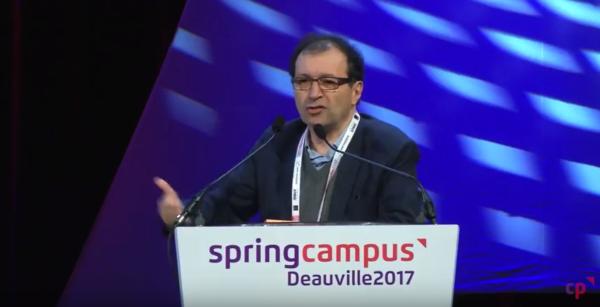 Intervention de Daniel Cohen, économiste, lors du Spring Campus 2017