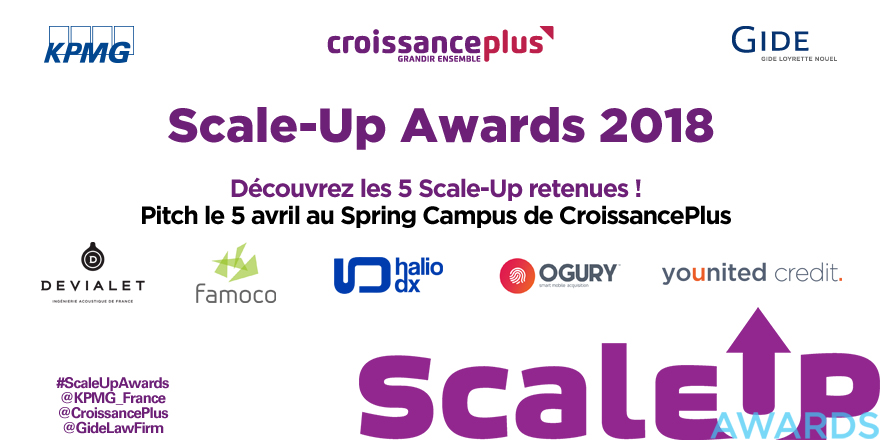 finalistes scale up awards 2018