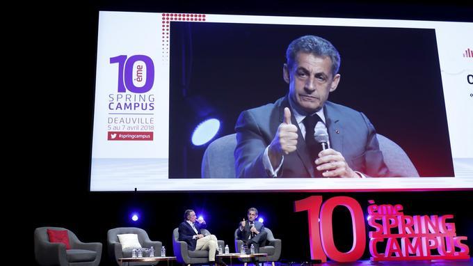 Nicolas Sarkozy, en ouverture du Spring Campus : «retour sur la crise de 2008 avec les entrepreneurs»