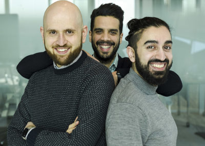 Zafar Baryali, Farid Lahlou et Massoud Ayati