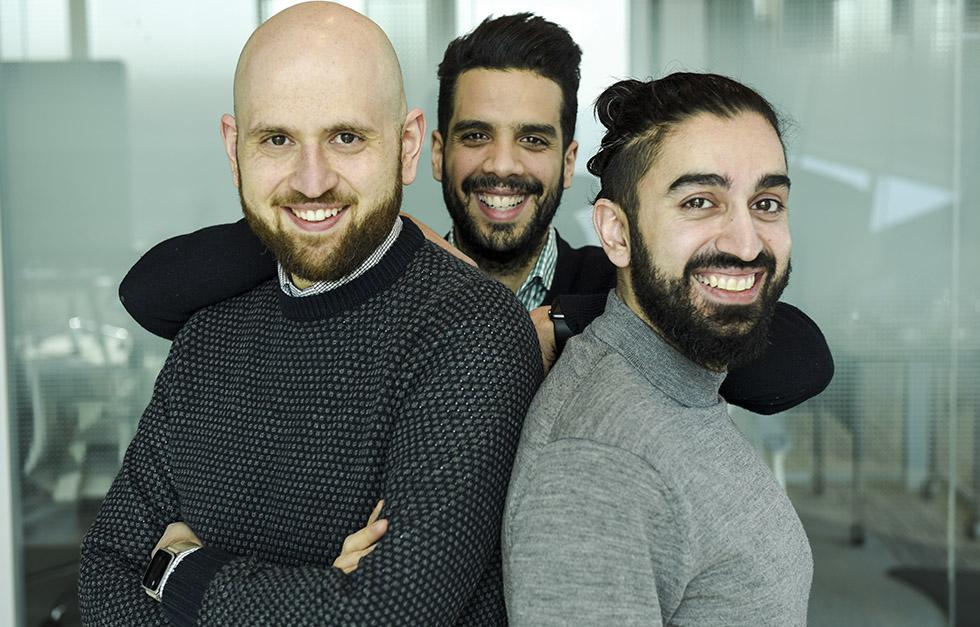 Farid Lahlou, Zafar Baryali et Massoud Ayat