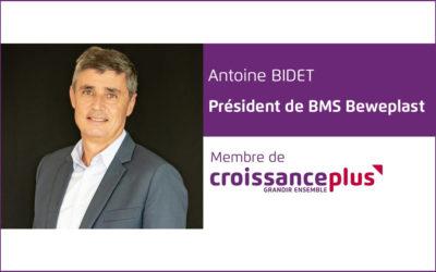 #AdherentCplus : découvrez Antoine Bidet, Président de BMS Beweplast