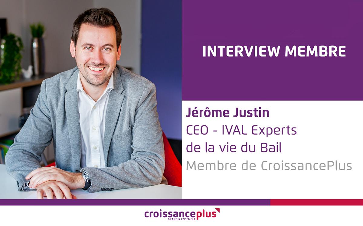 Découvrez Jérôme Justin, CEO d'IVAL