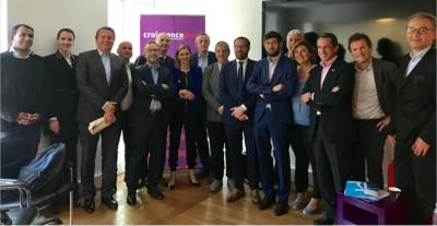 Agnès Pannier-Runacher à la rencontre des entrepreneurs de CroissancePlus