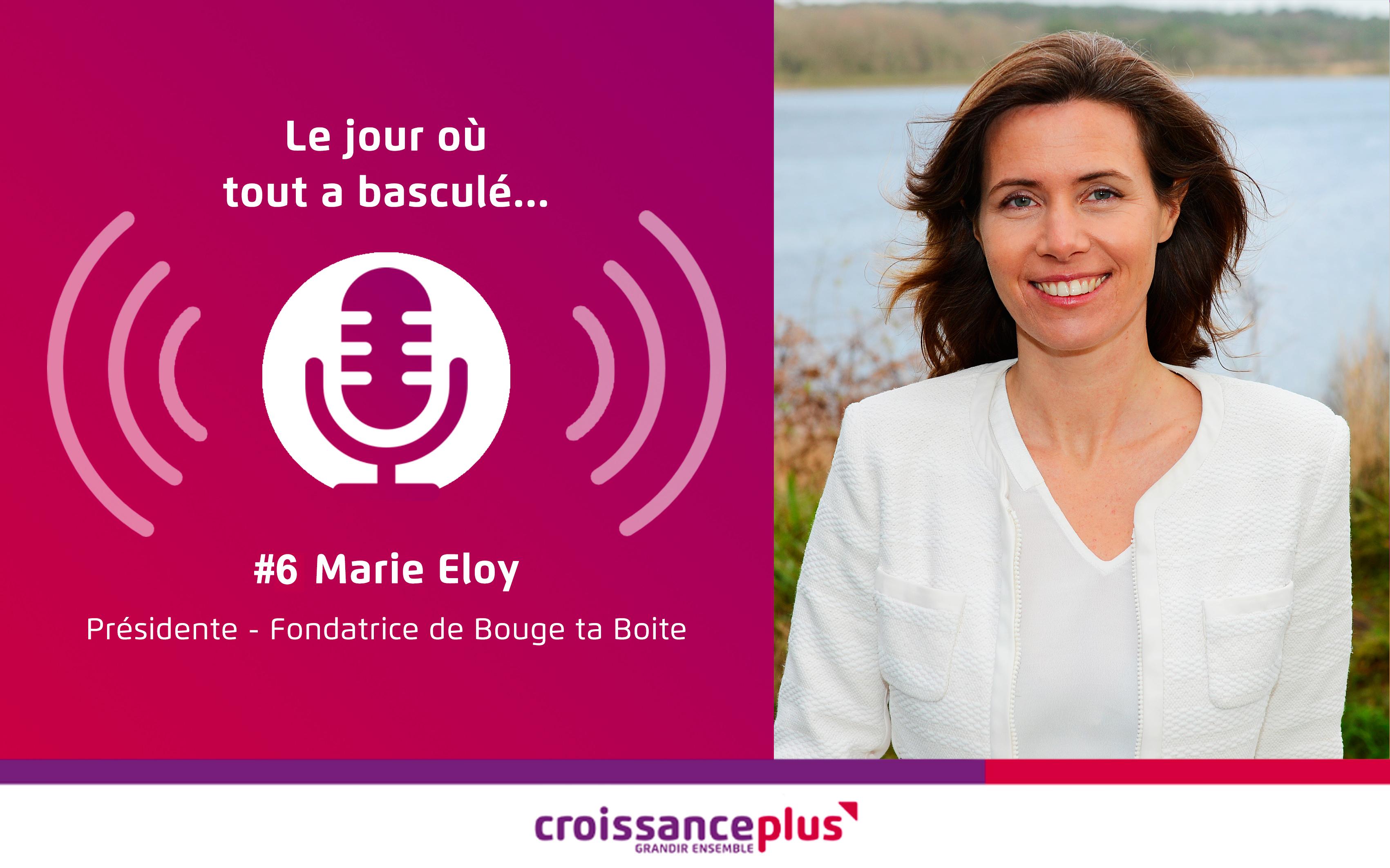Podcast : nouvel épisode avec Marie Eloy