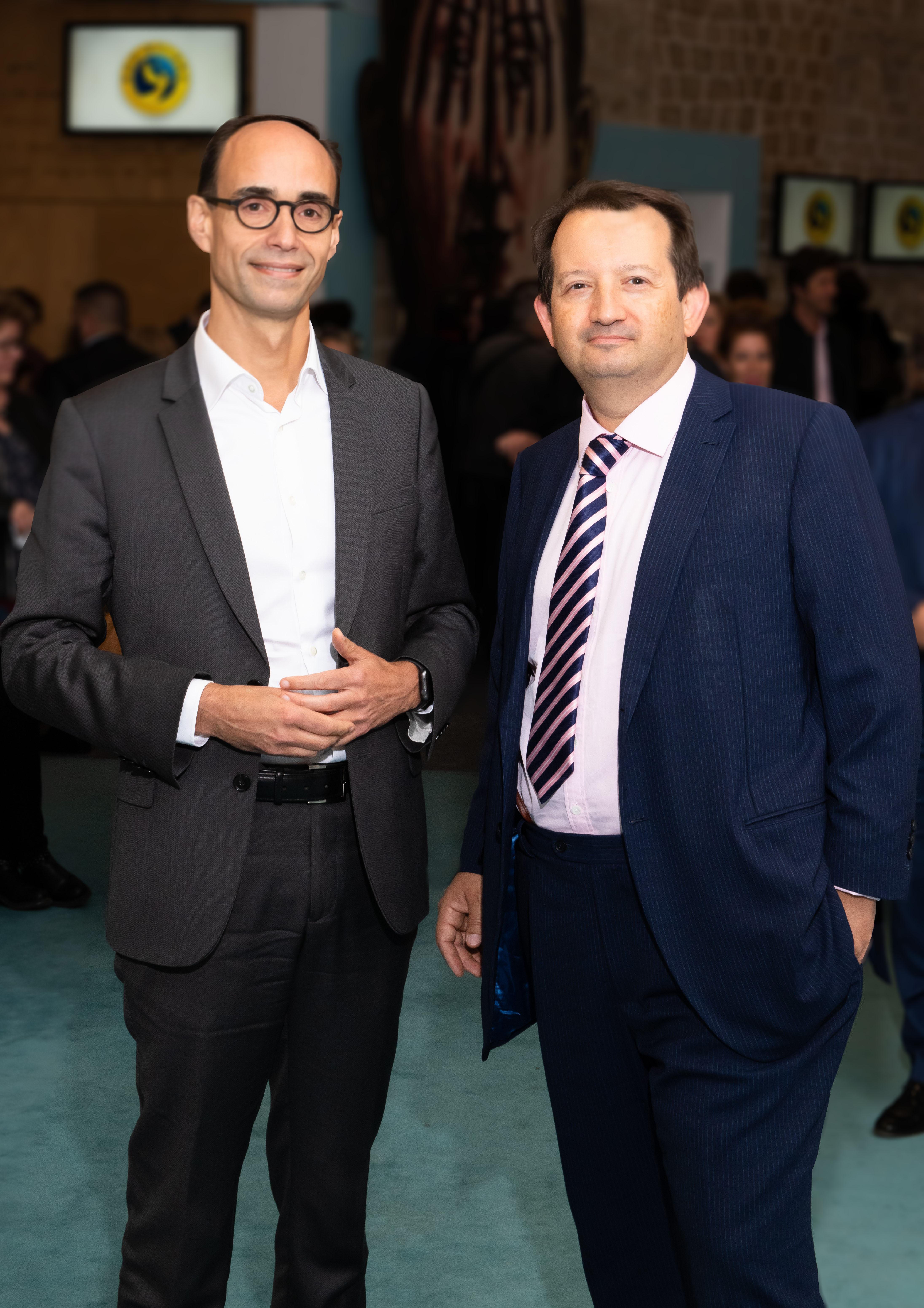 Thierry Gisserot et Xavier Thoumieux