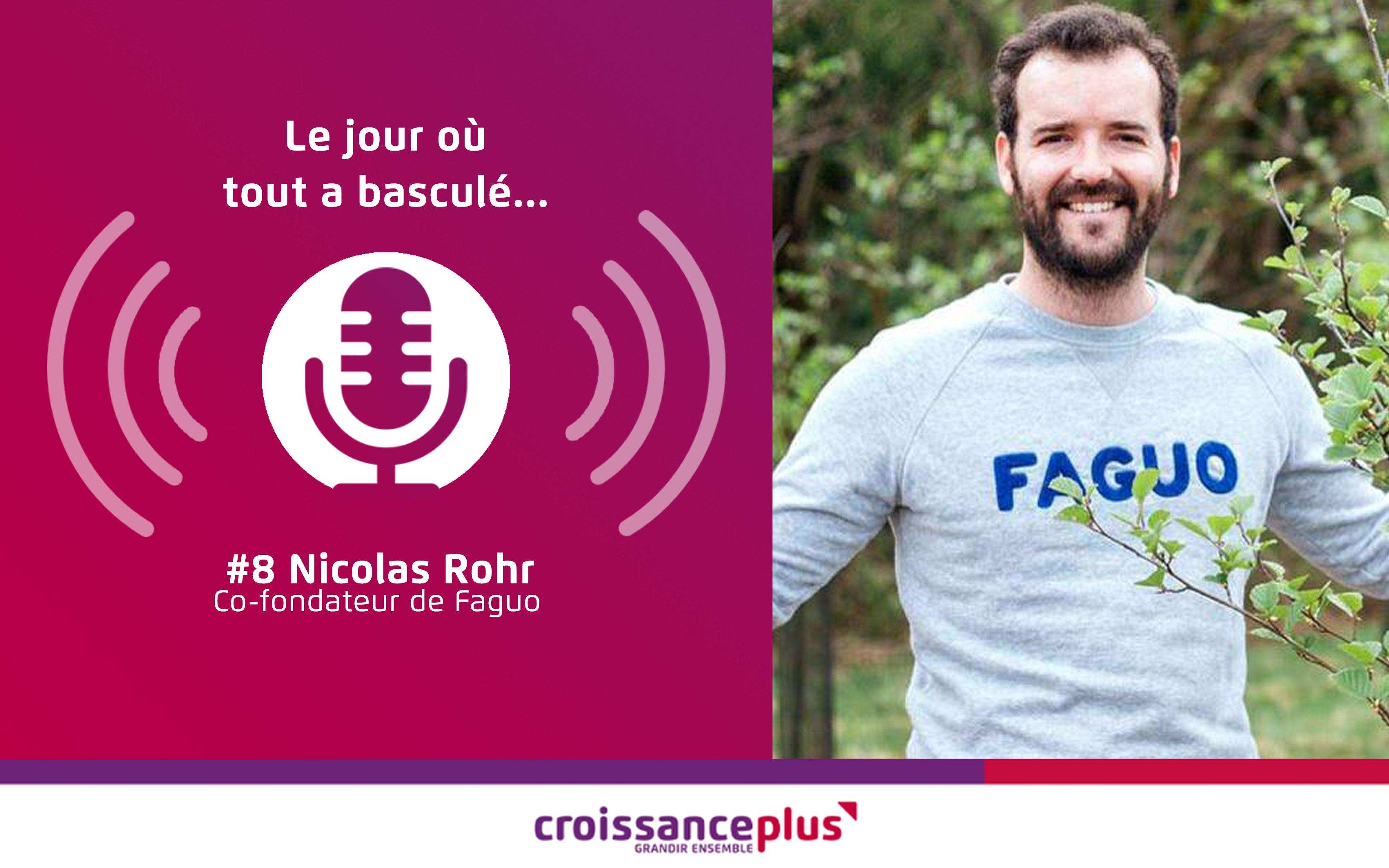 Podcast : nouvel épisode avec Nicolas Rohr !