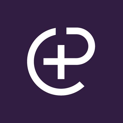Logo CP violet