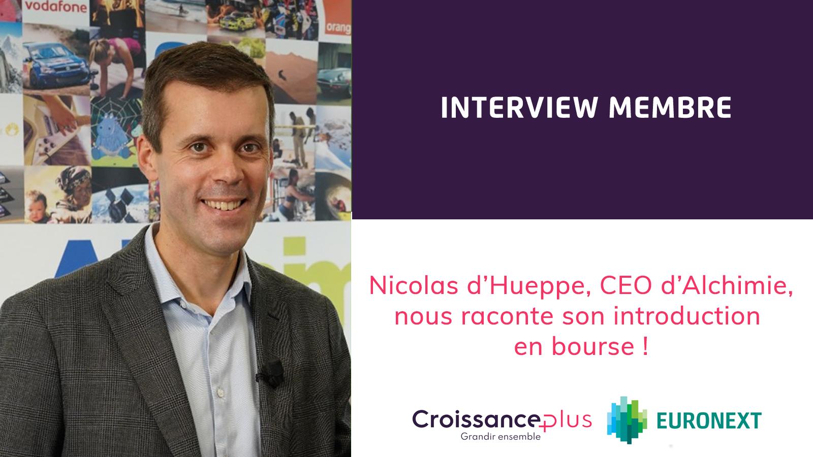 Morning Croissance avec Nicolas d'Hueppe !
