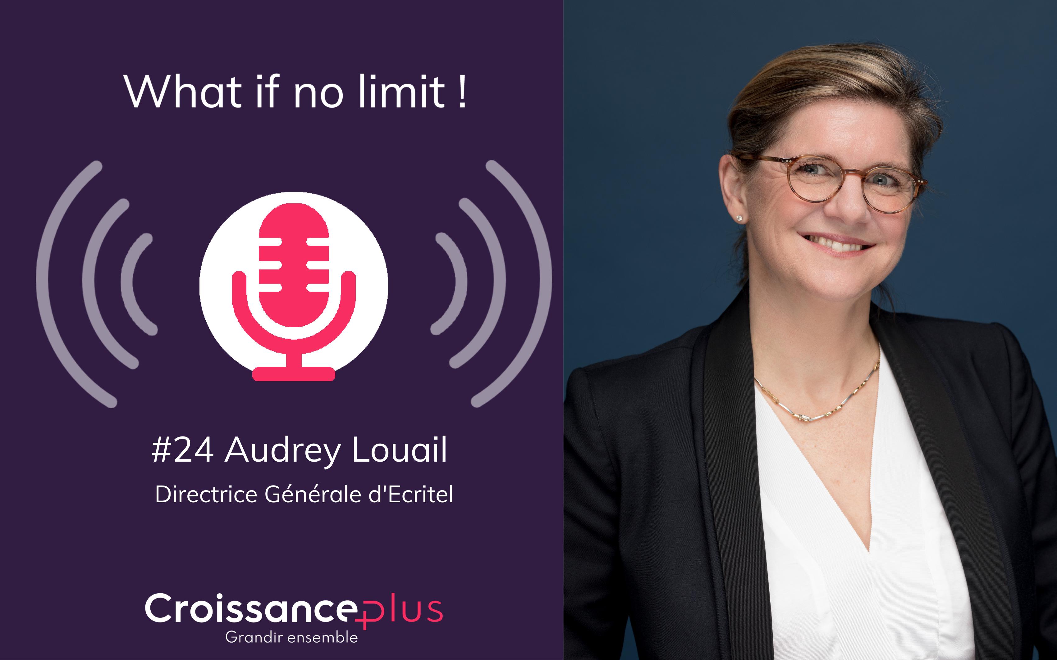 Podcast avec Audrey Louail, Directrice Générale d'Ecritel
